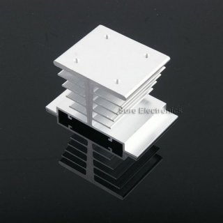LED Heat Sink 10W/20W/30W silber